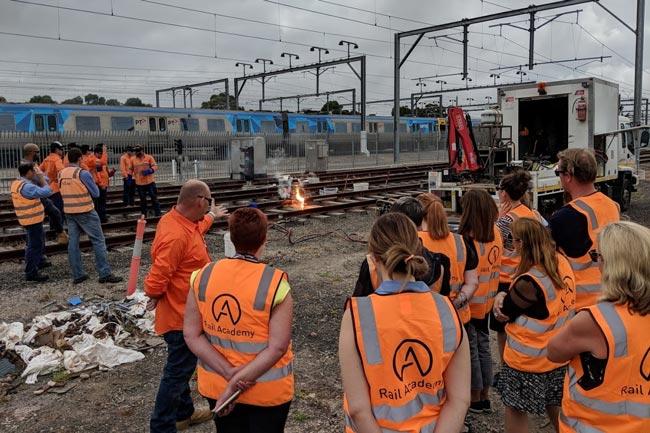 Promoting rail careers