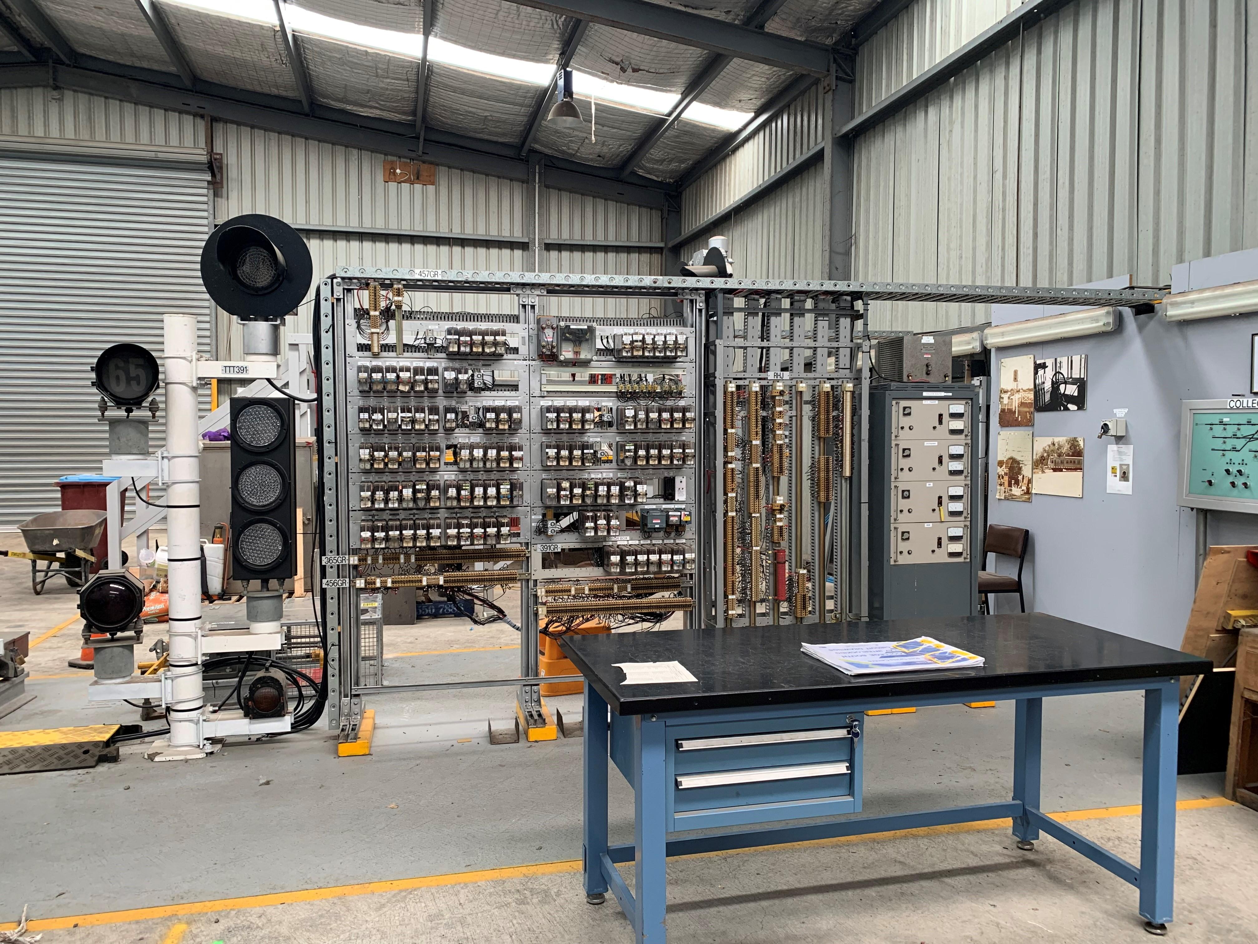 Signalling Equipment Workshop