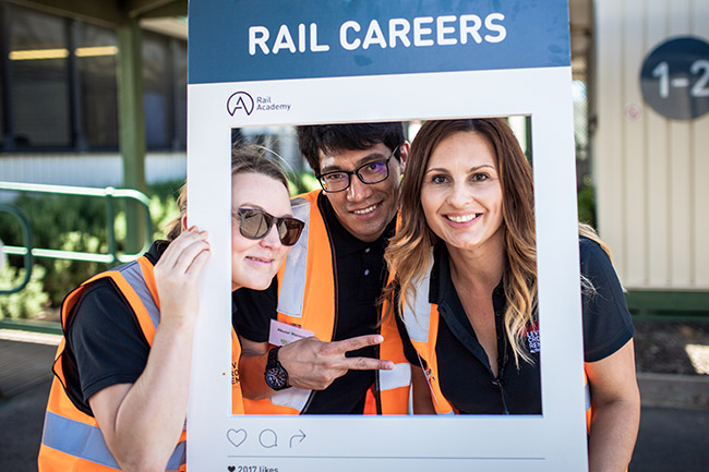 Careers in rail